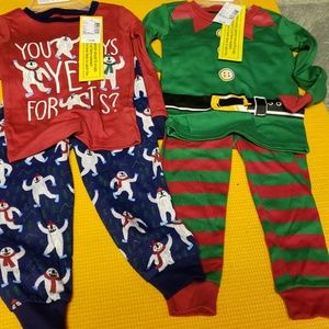 Set of 2 holiday pjs